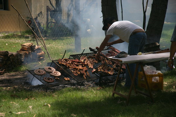 Creole barbecue